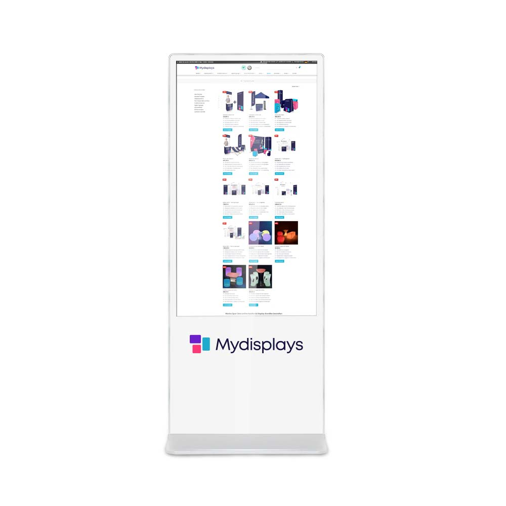Digital Signage Stele Touch