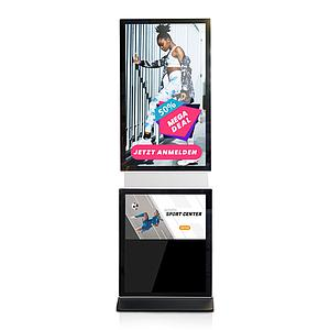 Digital Signage Stele Swivel