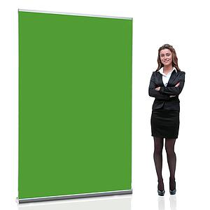 Greenscreen Roll Up